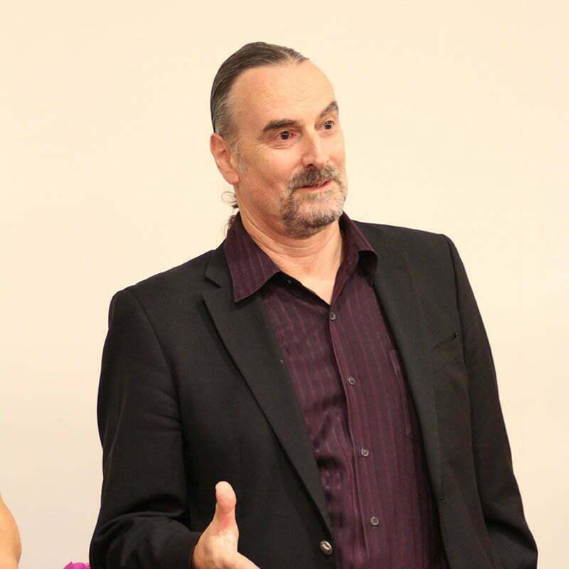 Dr Richard Bolstad podczas kursu NLP
